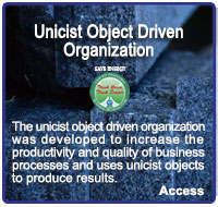 Unicist Object Driven Organization