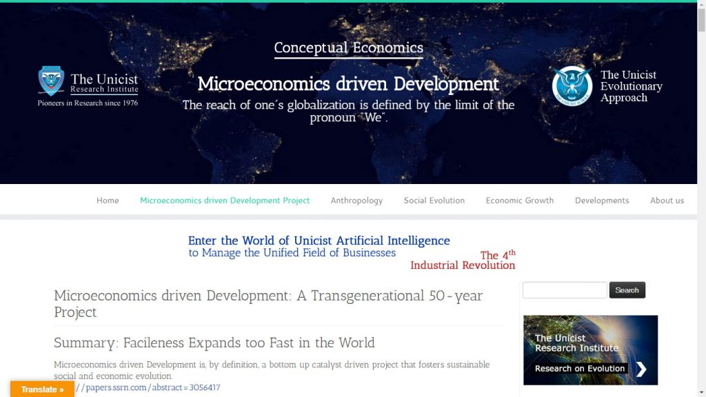 Microeconomics driven Development Project