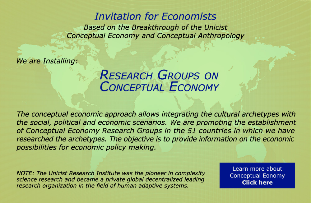 Research Groups on Conceptual Economy