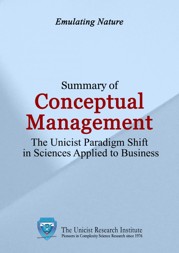 Conceptual Management: A Paradigm Shift in Business