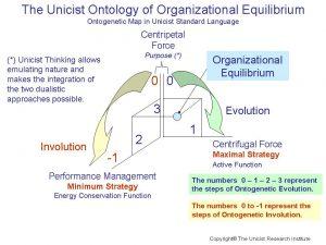 Unicist Ontology of Organizational Equilibrium