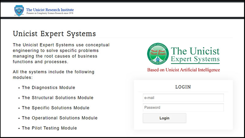 Unicist Expert Systems