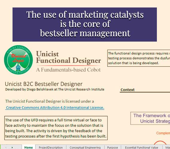 Unicist B2C Bestseller Designer